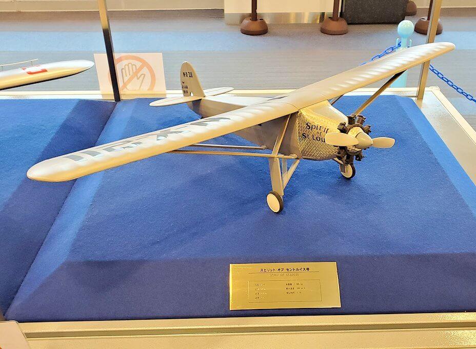 新千歳空港「大空ミュージアム」に展示されている、昔の飛行機模型2