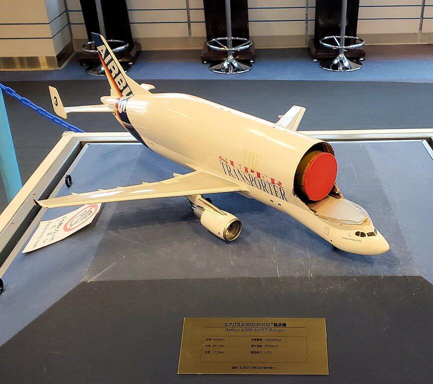 新千歳空港「大空ミュージアム」に展示されている、昔の飛行機模型6