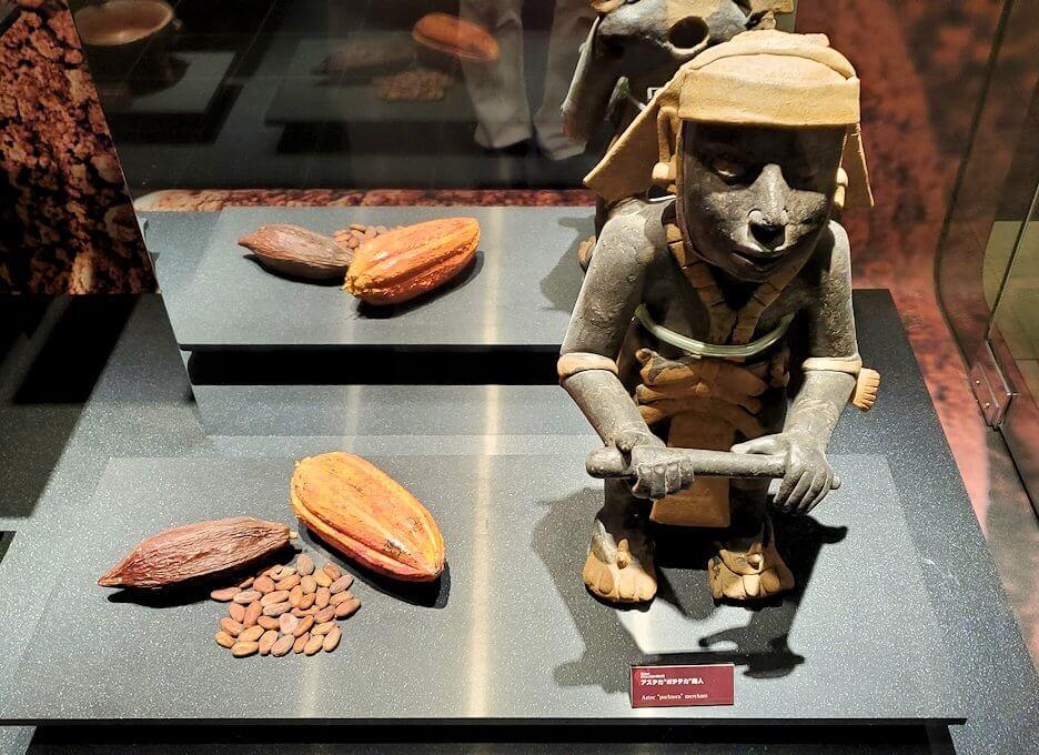 「ロイズチョコレート・ワールド」にあるアステカ帝国の置物1