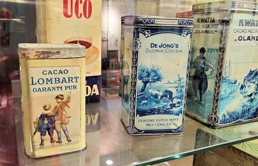 「ロイズチョコレート・ワールド」にある、チョコレート缶