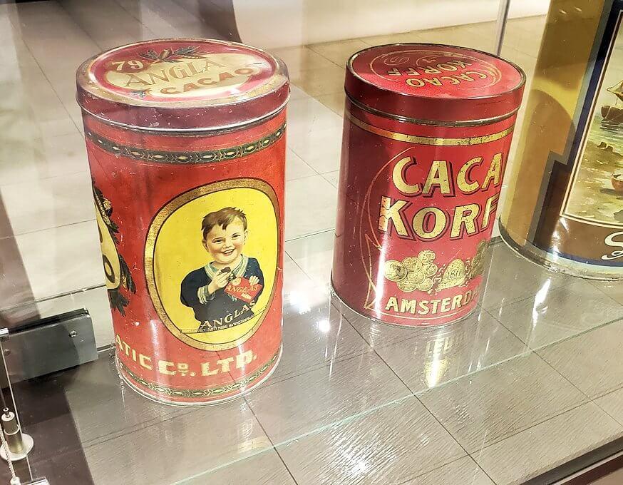 「ロイズチョコレート・ワールド」にある、チョコレート缶1