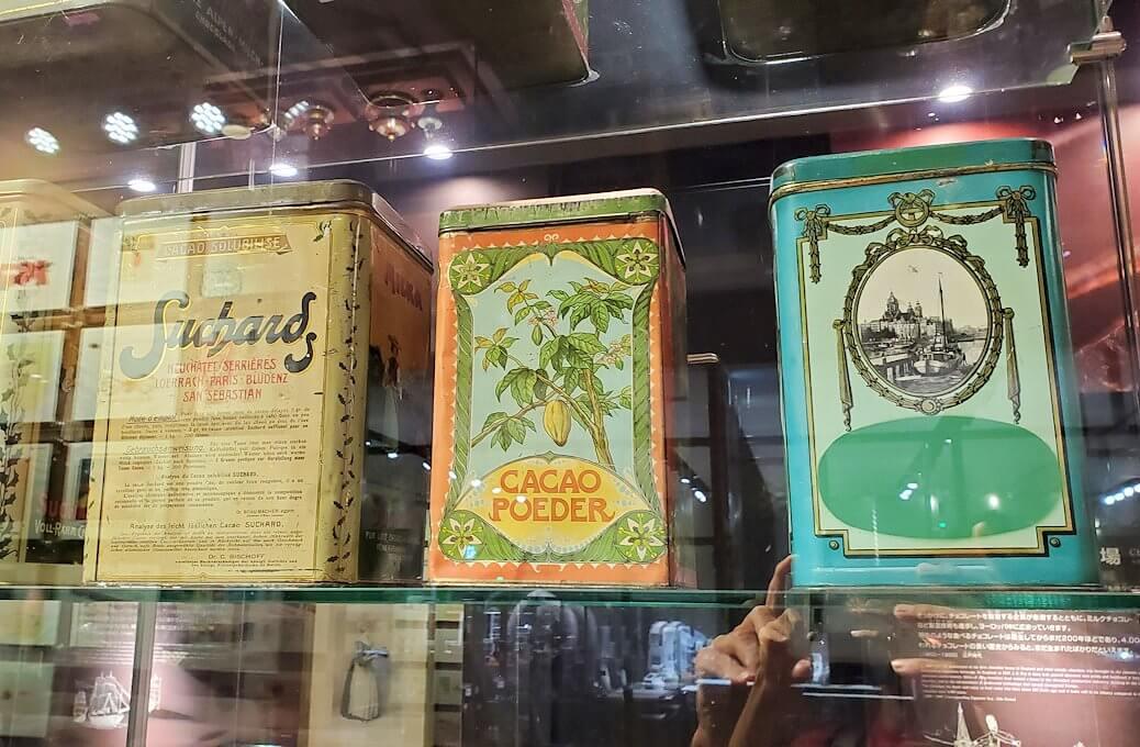 「ロイズチョコレート・ワールド」にある、チョコレート缶3