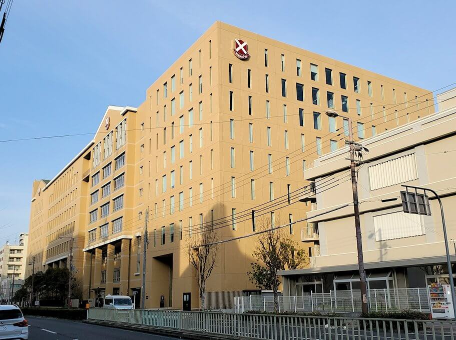 大阪市にある「桃山中学校」で一時教員をしていた竹鶴政孝