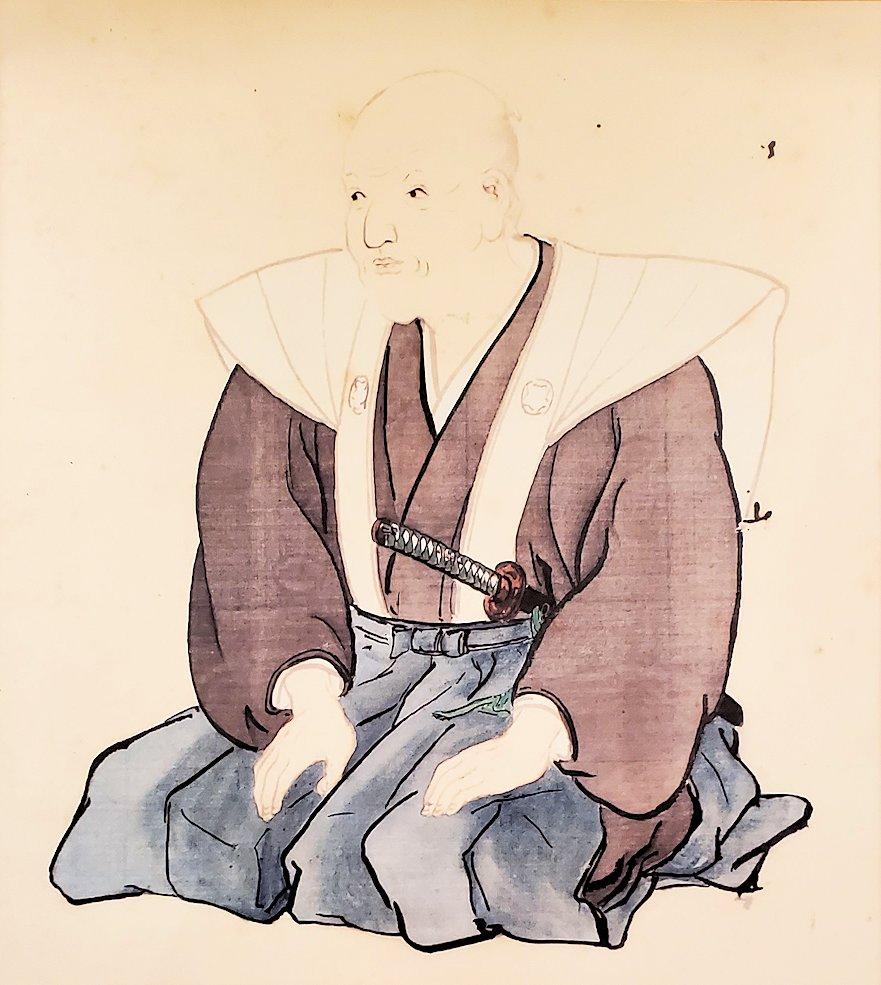 調所笑左衛門広郷の肖像画