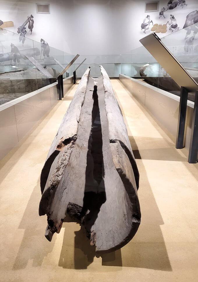 朱雀門広場「いざない館」内の展示模型6