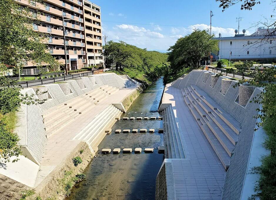 奈良市内を流れる佐保川1