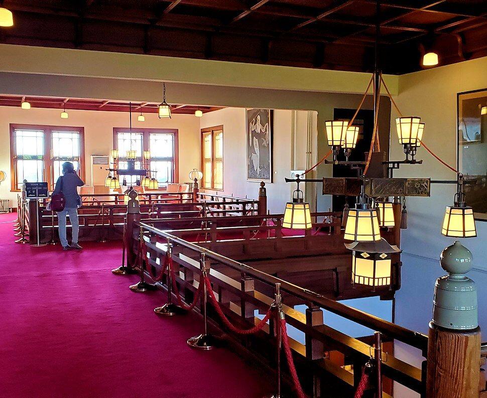 奈良ホテル本館2階フロア