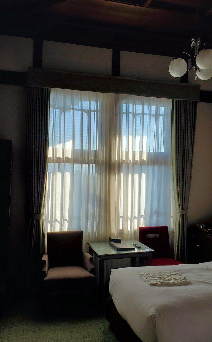 奈良ホテル本館の部屋の内装