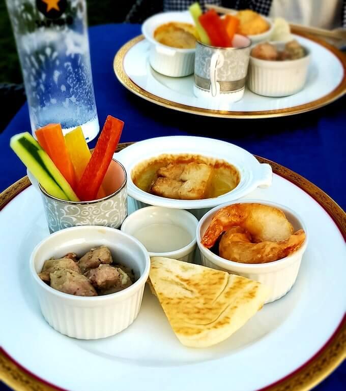 奈良ホテル:ビアテラスで出てきた食事4