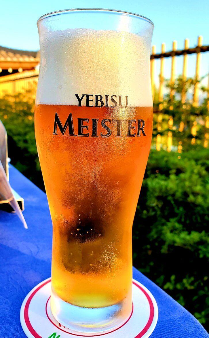 奈良ホテル:ビアテラスで出てきたビール3