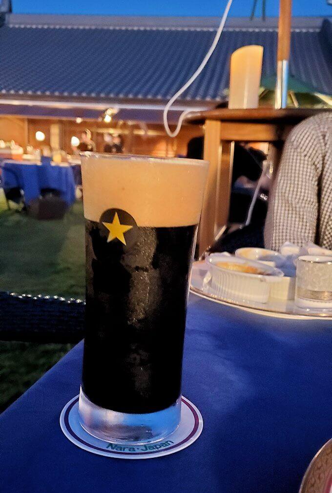 奈良ホテル:ビアテラスで出てきたビール5