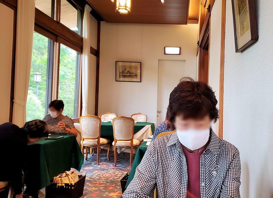 奈良ホテルメインダイニングルーム「三笠」の景色