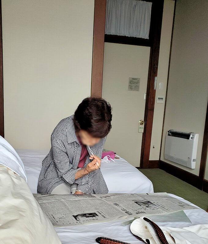 奈良ホテルの部屋