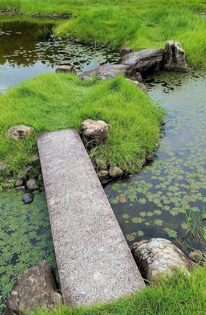 名勝「旧大乗院庭園」内の橋