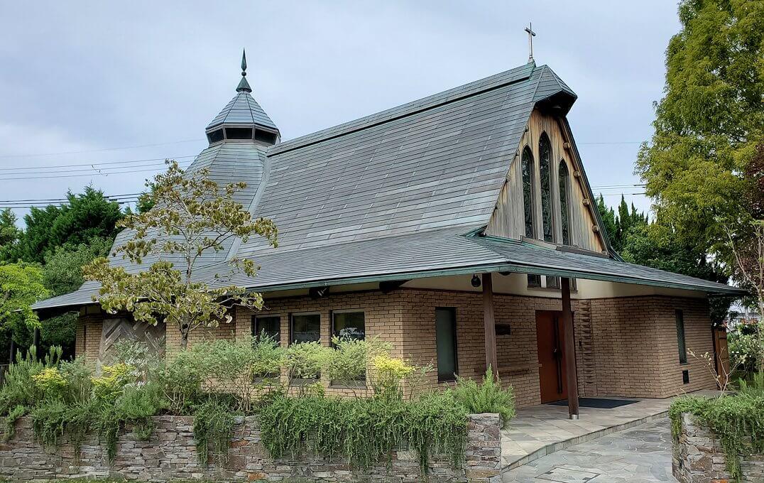 奈良ホテル内の教会