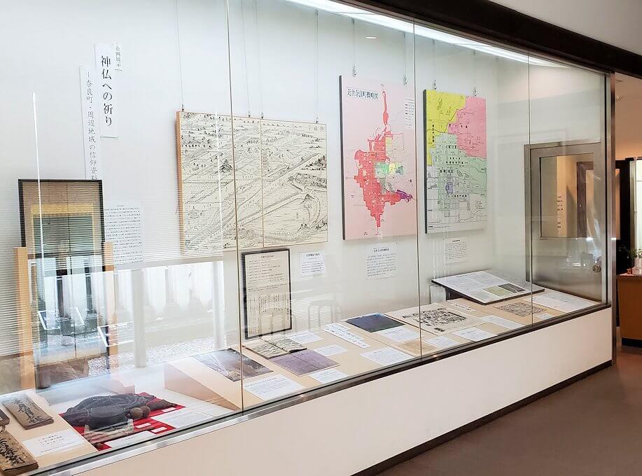 「ならまち」の資料保存館の展示物4