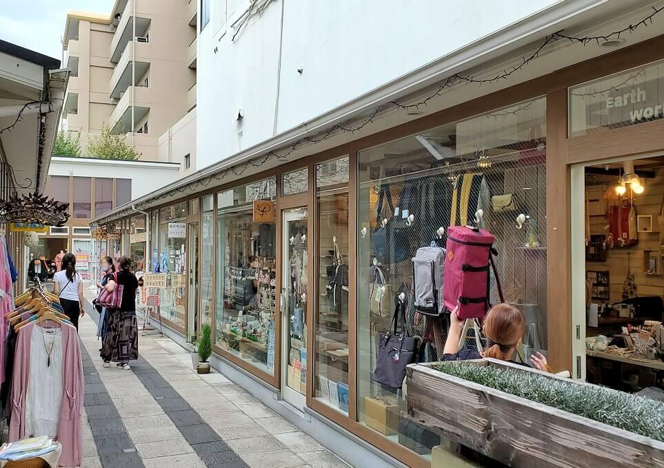 奈良「下御門商店街」の雑貨が売られている場所1