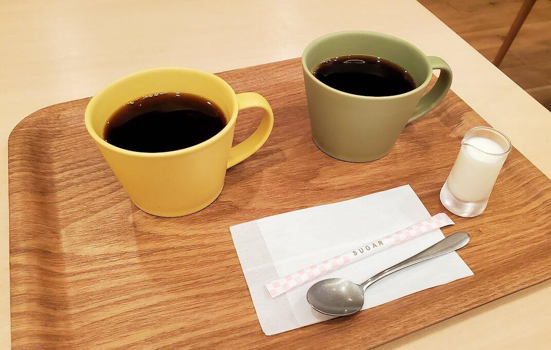 奈良市の鹿鳴コーヒーで飲むコーヒー