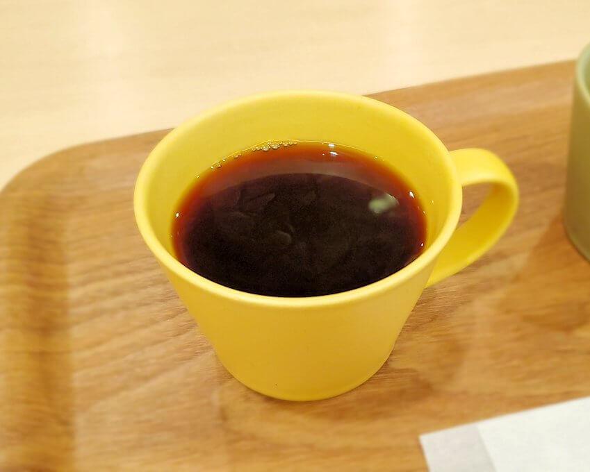 奈良市の鹿鳴コーヒーで飲むコーヒー1