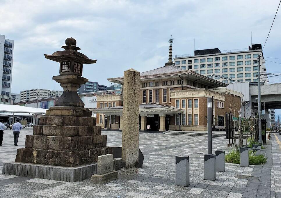 JR奈良駅に到着