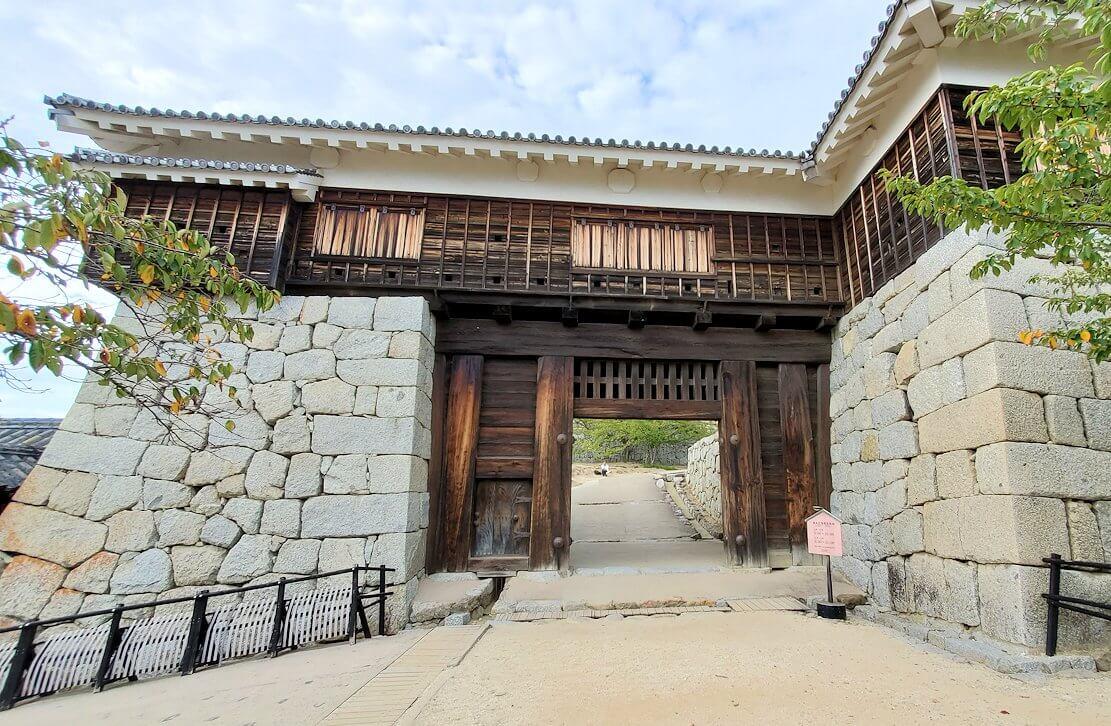 松山城筒井門