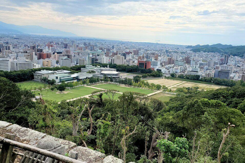 松山城本丸広場からの眺め1