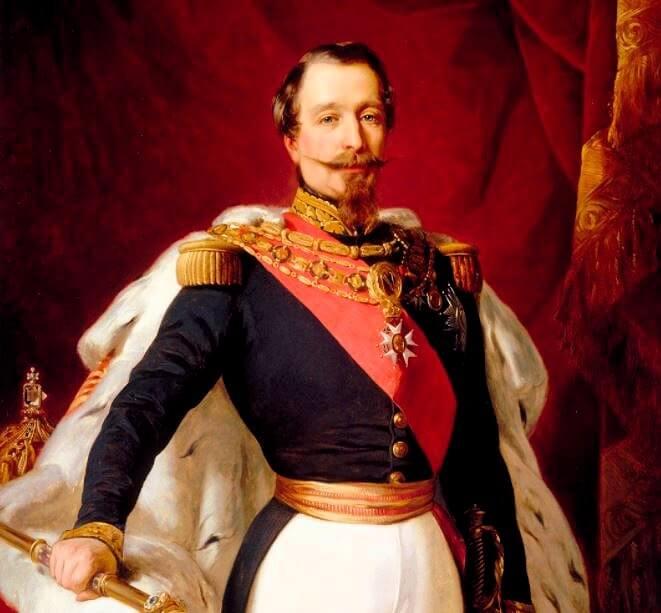 ナポレオン3世(Napoléon Ⅲ)の肖像画