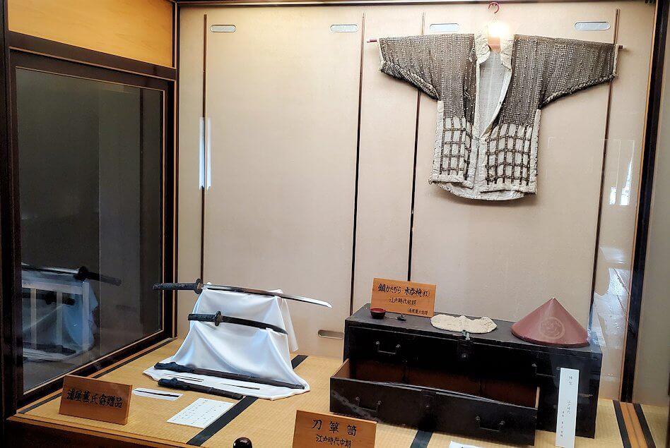 松山城大天守の展示品1