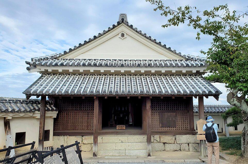 松山城本壇にある「天神櫓」