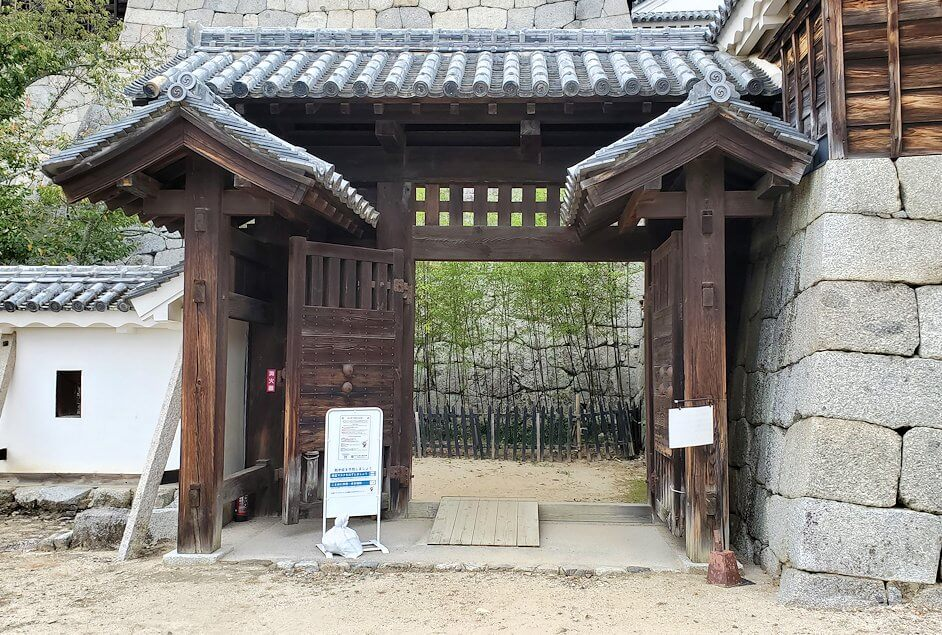 松山城「紫竹門」