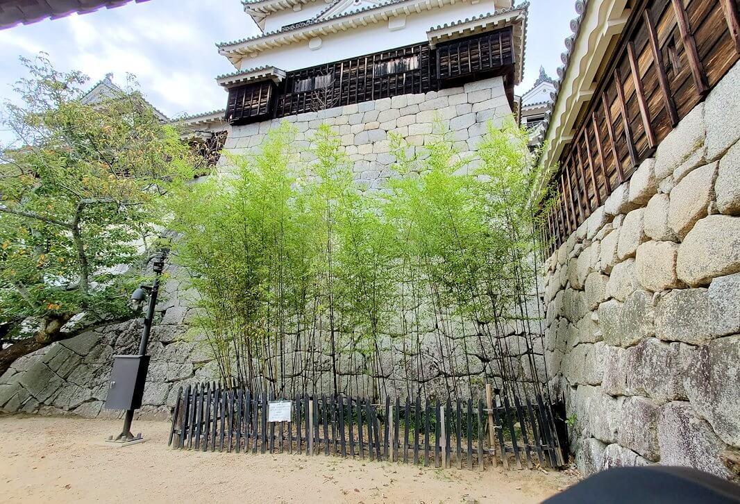 松山城「紫竹門」からの景色