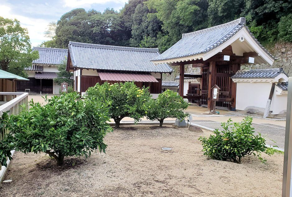 「二之丸史跡庭園」内の庭