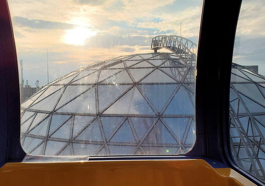 松山市の「大観覧車くるりん」から眺める松山市内の景色7