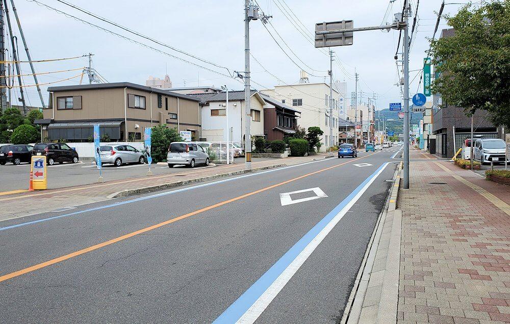 今治駅からしまなみ海道を自転車で進む