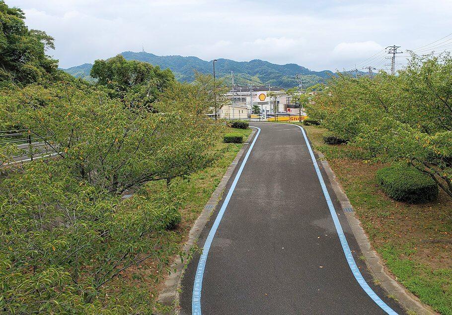 しまなみ海道で来島大橋の入口に入る1